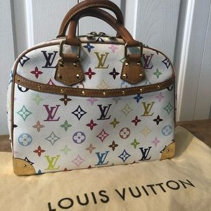 Louis Vuitton multicolor Trouville Purse